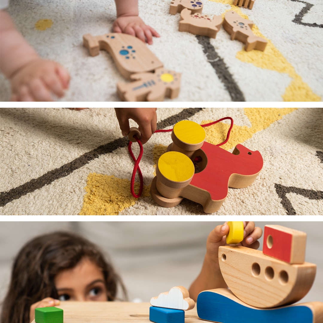 3 sustainable & interactive toys for your child
