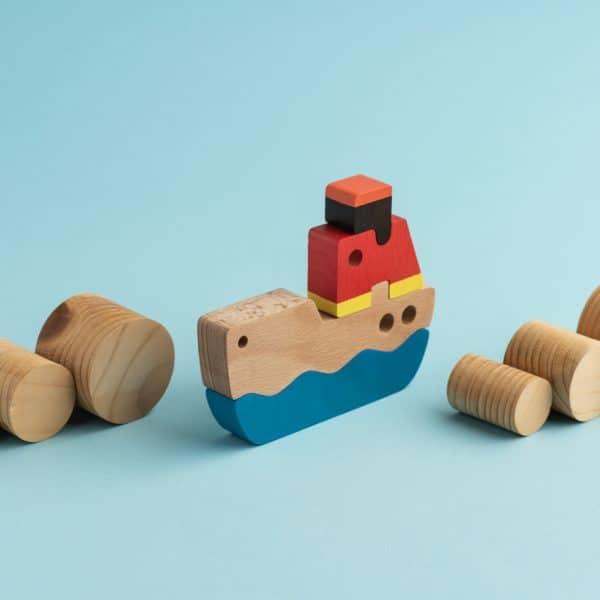 puzzle ship cargo